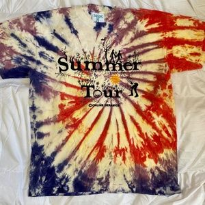 Summer Tour Tie Dye by Online Ceramics Large T